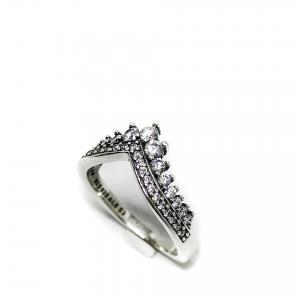 Anello tiara a punta